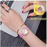 KoviShop3 漫画腕時計ハローキティ時計子供女の子女性クリスタルドレスクォーツレディ腕時計kol saatiレロジオfeminino
