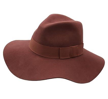 4e431a4817a39 ... discount code for brixton floppy hat wool felt women piper size m  merlot c156c 3d3ed