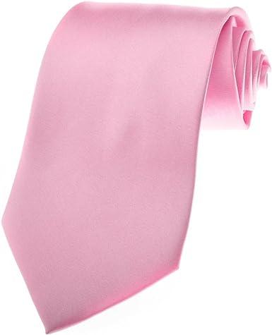 Corbata para hombre TopTie rosa corbata, conciencia de cáncer de ...