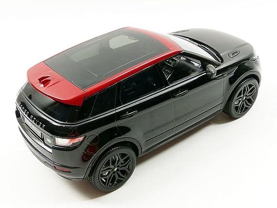 Ousia KY9549BK - Escala 1:18 Kyosho Range Rover Evoque HSE Dynamic Lux Die Cast Model, Santorini Black: Amazon.es: Juguetes y juegos