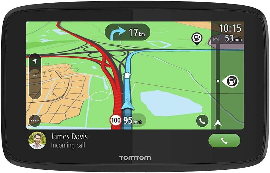 Tomtom Navigationsgerät Go Essential 6 Zoll Stauvermeidung Dank Tomtom Traffic Karten Updates Europa Freisprechen Updates über Wi Fi Tmc Navigation