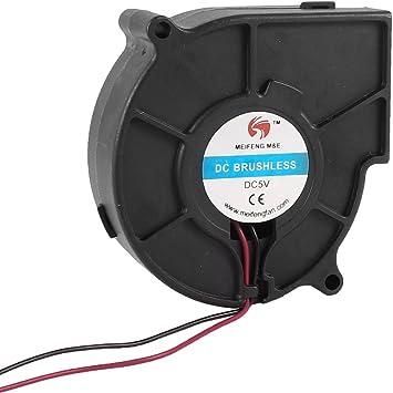75mm x 30mm 2P ??5V DC sin escobillas del ventilador ventilador de ...