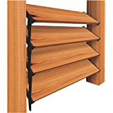 """Nuvo Iron Louver Blinds & Shutter System - Hardware Kit (Designed for use of up to 48""""W) - LSB48"""
