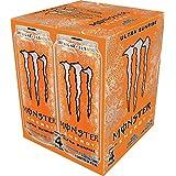 Monster Energy, Ultra Sunrise, 473mL cans, Pack of 4