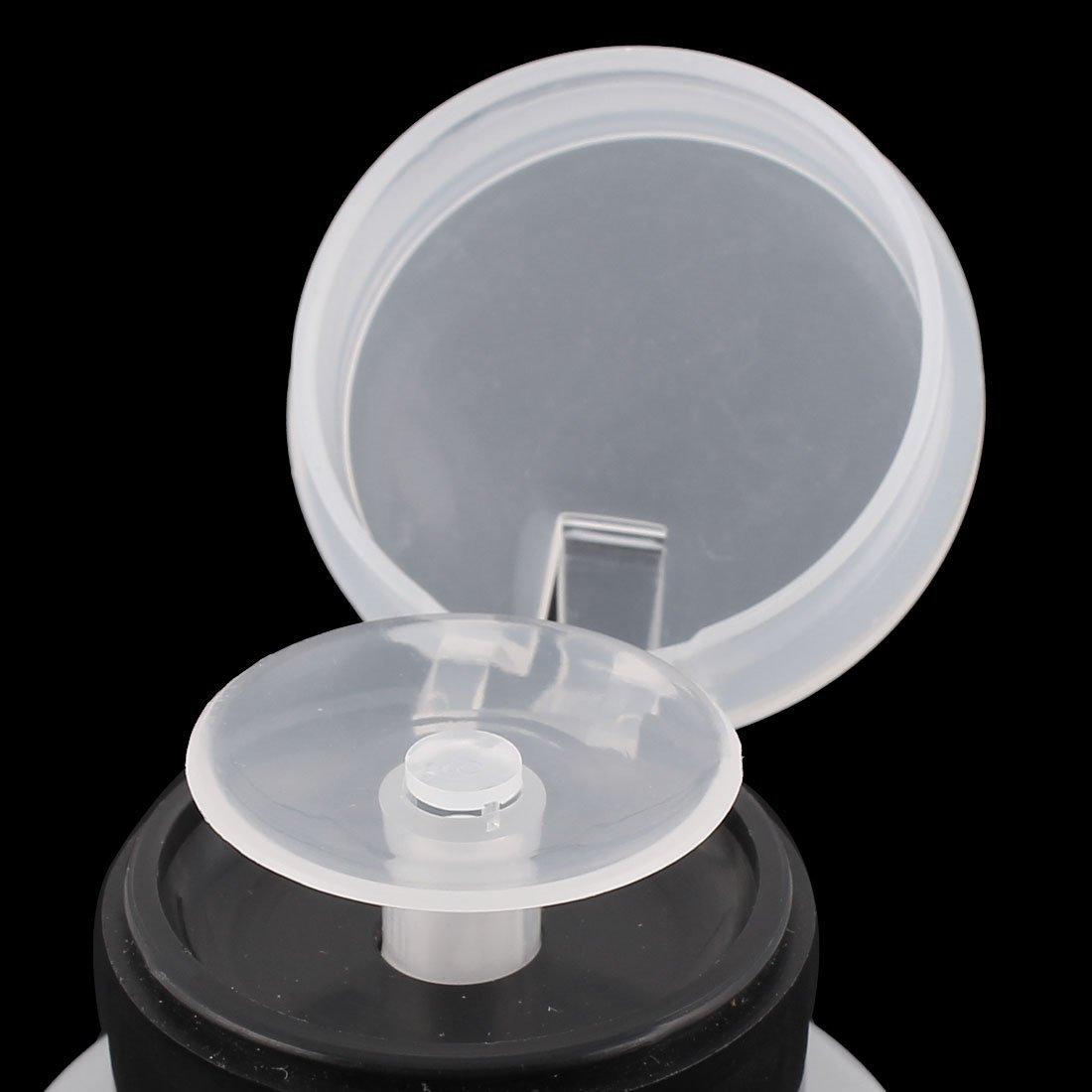 Amazon.com: DealMux Plástico Removedor Nail Art vazio bomba Dispenser Cilindro Black Bottle 160ml: Health & Personal Care