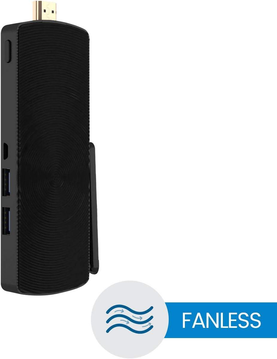 32GB eMMC Apollo Lake N3450 AZULLE Access3 Mini PC Stick Fanless Windows 10 Pro 4GB RAM