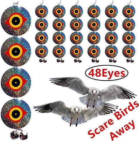 Bird Repellent Discs Scarer Woodpecker product image