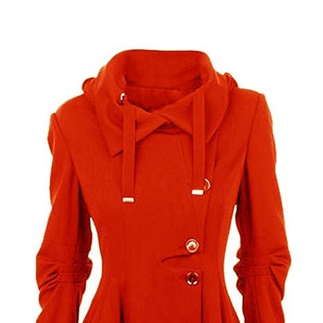 Dihope Damen Mäntel Kleider Trenchcoat Lang Parka Asymmetrisch Saum Jacke  Windbreaker  Amazon.de  Bekleidung 49694970e7