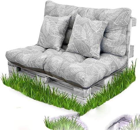 AOM Cuscino Casahorra Cuscino in Fibra di Pallet + Cuscino
