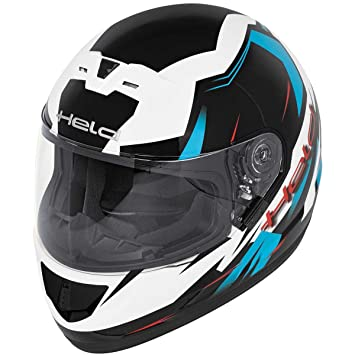 Héroe Akashi casco integral Azul azul Talla:XL (61/62)