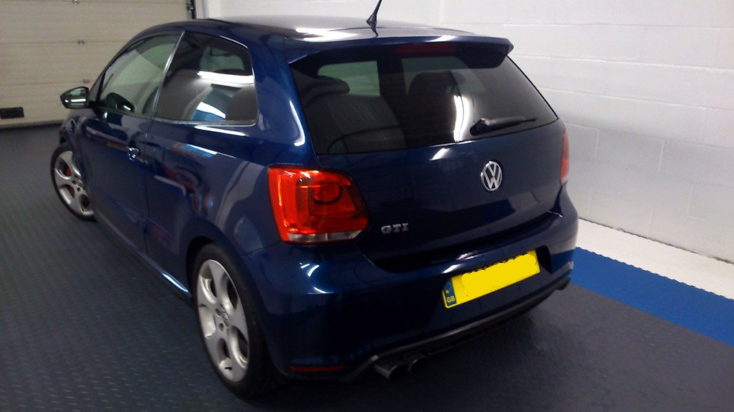 B - Rear windows Vauxhall Zafira 5/% Limo Pre cut window tint 2005 and newer