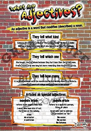 Amazon.com: Parts of Speech Posters ~ Set of 10: Prints: Posters ...