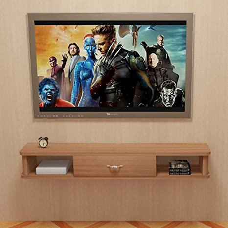 Amazon Com Floating Shelf Home Living Room Tv Stand Component Shelf Tv Mounts Wall Cabinet Entertainment Media Center Storage Console Display Shelf Tv Console Tv Cabinet Tv Stand Video Game Consoles Home