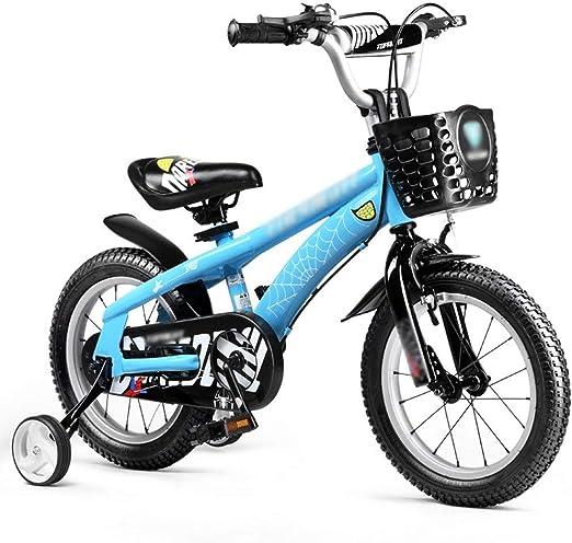 KOSGK Bicicletas para Mujeres/Hombres Bicicleta 12 Pulgadas 14 ...