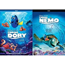 Finding Dory + Finding Nemo Combo