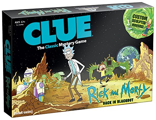 Usaopoly Rick   Morty Clue Board Game