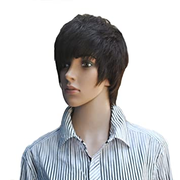 amazon com gooaction cool humen hair full lace full wig men black