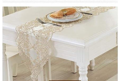 Camino de mesa de encaje para boda, fiesta, decoración del hogar ...