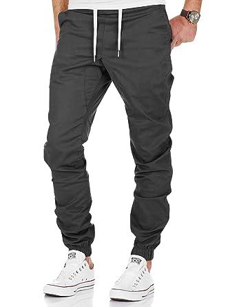 45c5c807540 Jogging Pantalons de Survêtement Ceinture Élastique Sport Cargo Pantalons  avec Poches Joggers Activewear Pantalons pour Homme