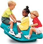 Little Tikes 486098 Classic Whale 3-Rider Teeter Totter Toy with Handles,