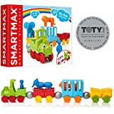 SmartMax My First Animal Train STEM Magnetic Discovery Play Set with Moving Train and Soft Animals for Ages 1-5