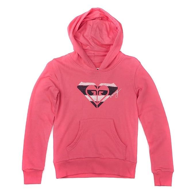 Roxy Sudaderas - Roxy Santa Cruz Hoody - Bright Pink multicolor: Amazon.es: Ropa y accesorios