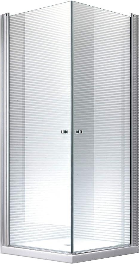 Glaszentrum Hagen - Zeus - Cabina de ducha - Ducha - Puerta abatible - mecanismo de elevación y descenso (90x90x195cm): Amazon.es: Bricolaje y herramientas