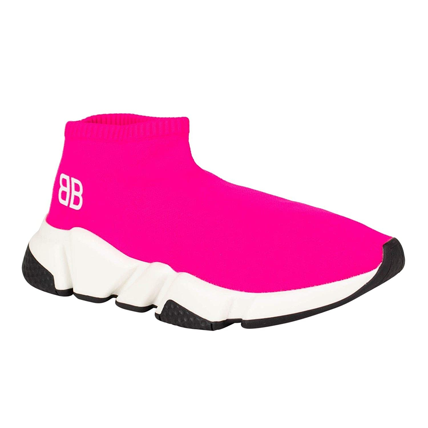 b261a7b98bc Amazon.com | Balenciaga Women's Speed Sock Trainers Sneakers Shoes /36 6  Pink | Fashion Sneakers