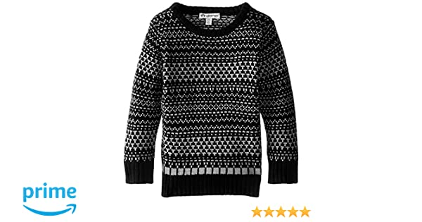 Amazon.com: Appaman Little Boys' Fair Isle Sweater, Black, 6: Clothing