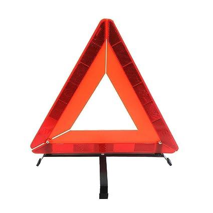 amazon com car foldable emergency warning triangle universal