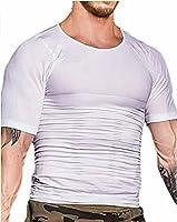 AvaneQ加圧 インナーシャツ メンズ コンプレッションウェア強力筋肉インナーダイエット