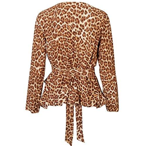 Leopard Limon Ls amp; Top Aop Di 6515 Womens Samsoe qwBRHSn