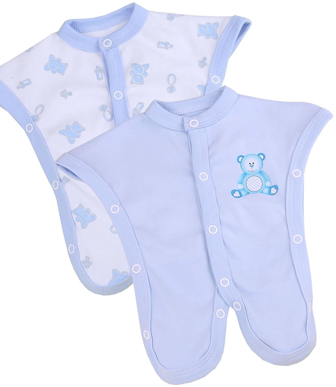 BabyPrem Preemie Baby Footies 2 SCBU Neonatal Intensive Care Clothes 1-3.5lb