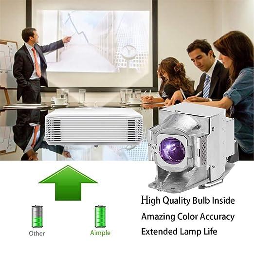 Aimple V13H010L96 Lámpara de proyector para Epson ELPLP96 EB-S05 ...