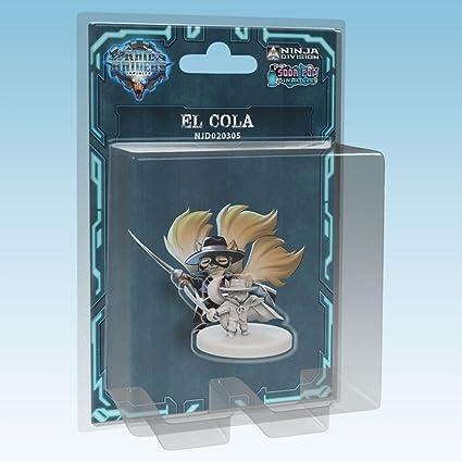 Ninja Division Rail Raiders Infinite: El Cola