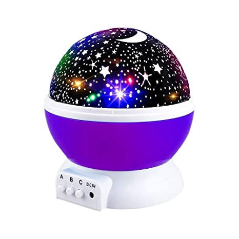 Christmas Gifts For Girls Age 12.Star Projector Night Light For Kids Moon Star Night Lights Starry Rotating Projection Lamp Party Favor Gifts For 3 12 Year Old Girls Boys Toys Age