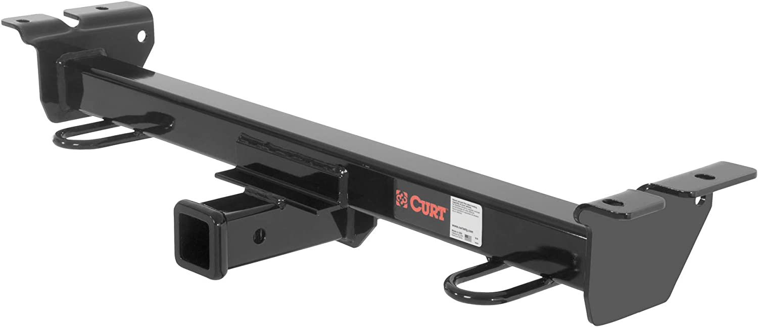CURT 33055 2-Inch Front Receiver Hitch, Select Ford E-Series Vans