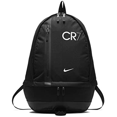 Image Unavailable. Image not available for. Color  Nike CR7 Cheyenne Backpack  Black White 39b7ee64e8e4e