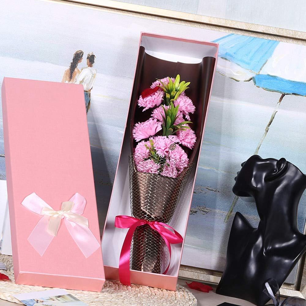Soap Thailand - 11pcs Artificial Carnation Soap Flowers ...