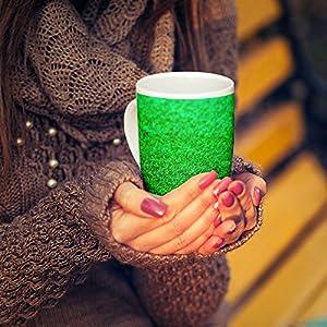 Westlake Art - Coffee Cup Mug - Green Grass - Modern Picture Photography Artwork Home Office Birthday Gift - 11oz (x9m-0c4-262)