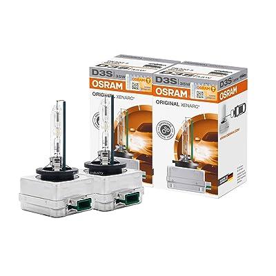 OSRAM XENARC D3S HID Xenon Headlight bulbs 66340 Pack of 2 by ALI: Automotive