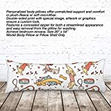 VOTANTA - Doxies Vintage Body pillows (Body Pillow 100% Microfiber, 20x54'')