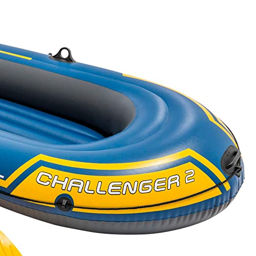 Intex 68367NP - Barca hinchable Challenger 2 con remos 236 x 114 x ...
