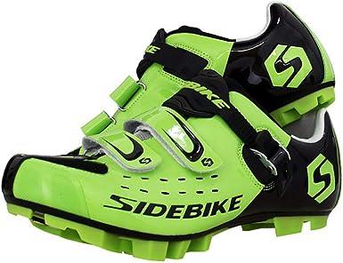 YU shoes Zapatillas de ciclismo de carretera para hombre ...