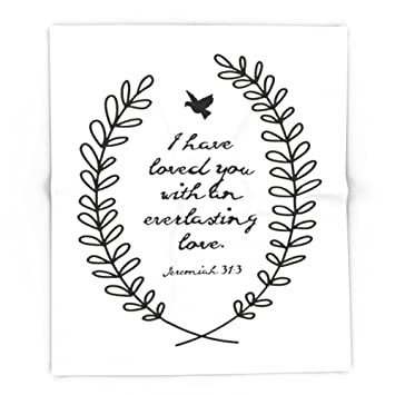 amazon com society6 everlasting love biblical quote love bible