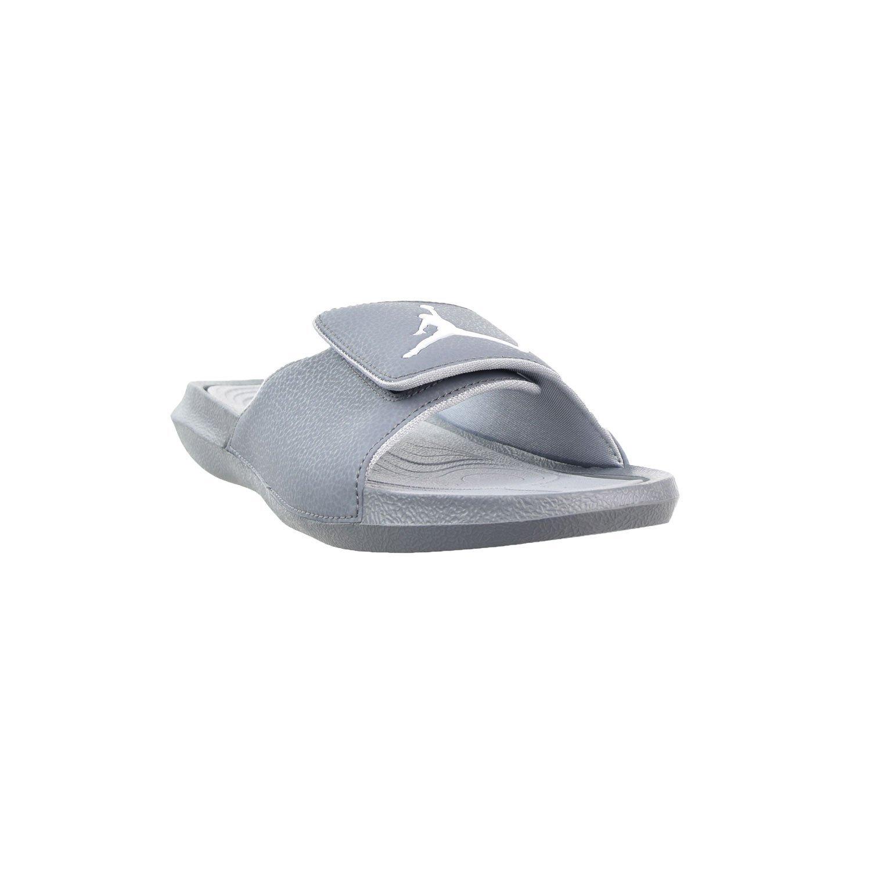 1820fddf23e15c Galleon - Nike Jordan Mens Hydro 6 Slide Sandals Cool Grey White-Wolf Grey  12