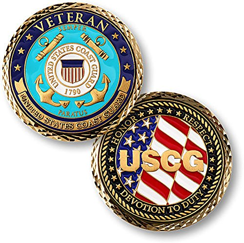 - U.S. Coast Guard Veteran Challenge Coin