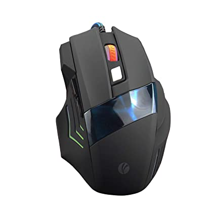 475c4b5ebeb VCOM Wired Gaming Mouse - Ergonomic USB Optical Mouse Mice with 7 Colors  LED Breathing Light