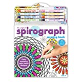 Spirograph Coloring Book & Crayons