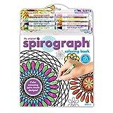 Kahootz Spirograph Coloring Book and Pencils